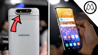 Samsung Galaxy A80 - ROTATING CAMERA Hands-on Review!