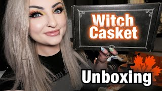 Witch Casket - Monthly Subscription Box Unboxing September 2020