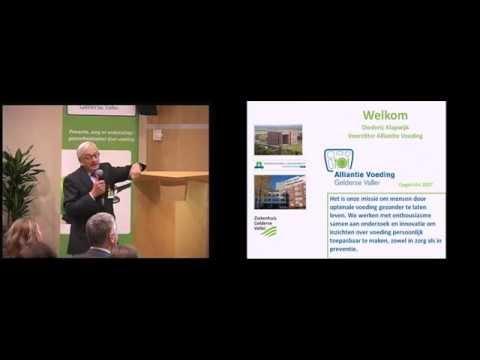 D Klapwijk en F Kok tijdens Food for Thought wetenschapsavond