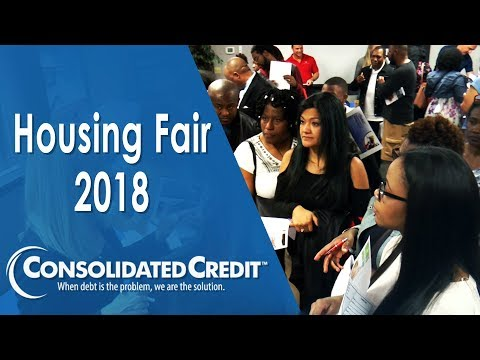 Watch what people experienced at a Consolidated Credit Homebuying Fair!  Many homebuyers don't know what to expect and steps like contacting a title company, getting appraisals, putting down money and establishing escrow are all unique to buying a home. So, even if you've used other types of financing, you still may not fully understand what you're in for.  At the Florida Homebuying Fair people can also connect with HUD-approved housing counselors to help them one-on-one with the process.