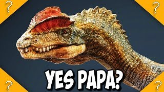Were there any adult Dilophosaurus in Jurassic Park
