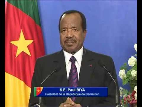 Message de S.E. Paul BIYA à la Jeunesse, le 10 février 2015