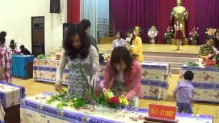 Khánh Hà - Mai Hiền tổ Vật lý kỹ thuật tham gia cuộc thi