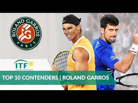 Top 10 French Open Contenders | Men's Singles | Roland Garros 2019