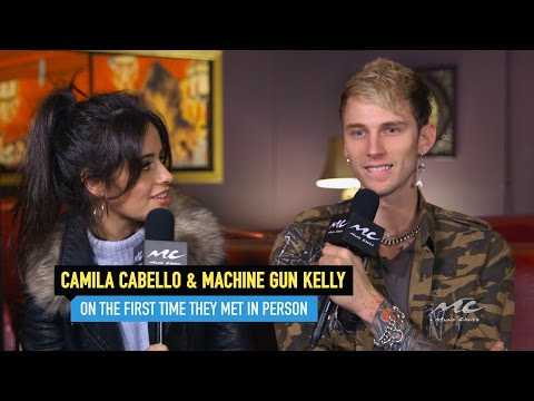 Camila Cabello and Machine Gun Kelly on Meeting in Person