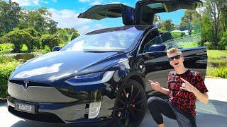 MY NEW CAR! (Tesla Model X P100D)