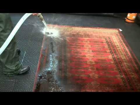 Rug Washing Procedure