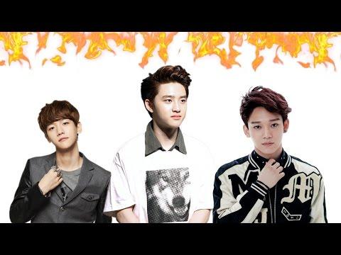 (Baekhyun vs. D.O vs. Chen) Vocal Battle Of EXO's Main Vocalists