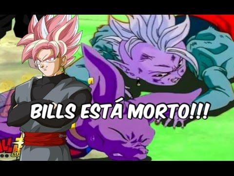 Bills e Kaioshin estão mortos no futuro - Goku Black superará os deuses da destruição!?