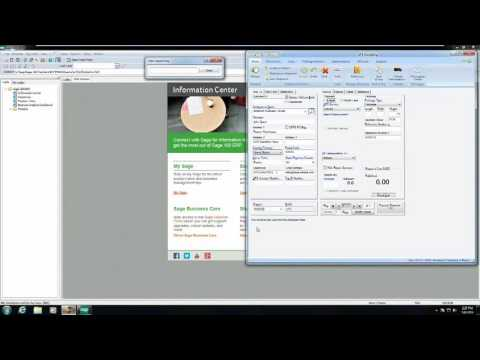 Sage 100 Shipping Software using ShipGear for UPS