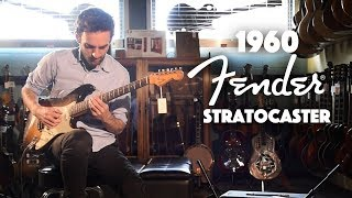 1960 Fender Stratocaster played by Julian Lage