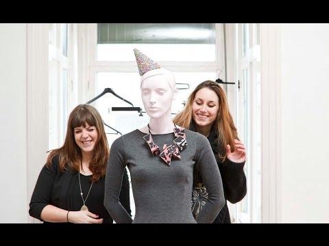 mode-ontwerpers Hjordis en Robin