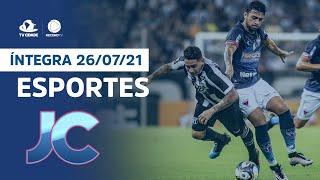 Esportes no Jornal da Cidade   Segunda, 26/07/2021
