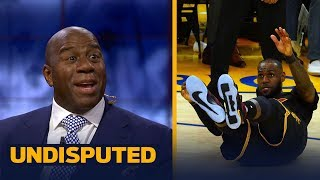 Magic Johnson on LeBron's 2017-18 MVP Chances, Kyrie's move to Boston | UNDISPUTED