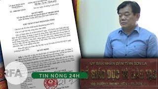 Tin nóng 24H | Hủy quyết định xin về hưu của Giám đốc Sở Giáo dục