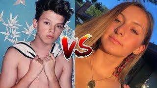Jacob VS Brooke Tik tok battle