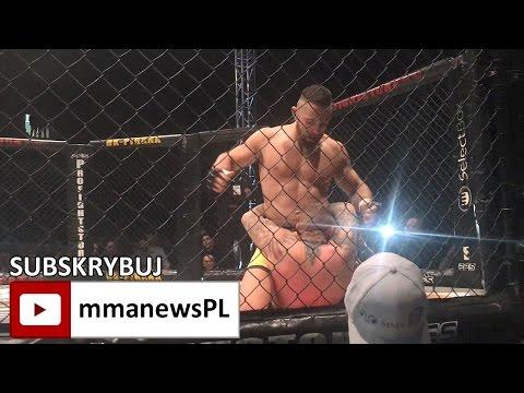 CFC 3: Vaso Bakocevic przegrał na Słowenii przez TKO w 1 rundzie (+video)