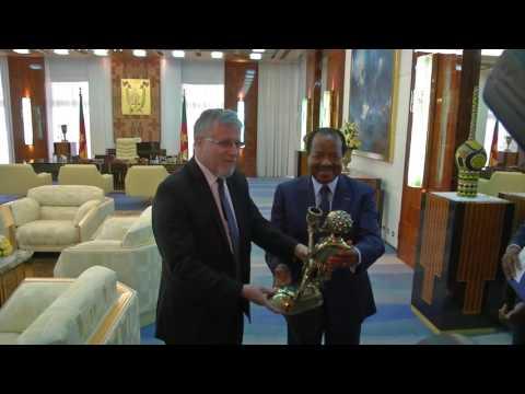 Les adieux de S.E.  Claude ALTERMATT, Ambassadeur de Suisse au Cameroun