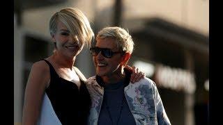 Ellen DeGeneres and Portia DeRossi at the 'Finding Dory' LA Premiere 2016