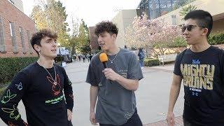 TikTok boys do Awkward College Interviews