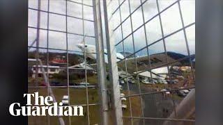 Light plane crashes into ferris wheel
