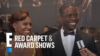 Why Sterling K. Brown Doesn't Rehearse With His Wife | E! Live from the Red Carpet