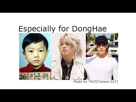 SJ-DongHae's evolution SJ-東海 成長史