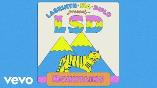 LSD - Mountains (Official Audio) ft. Sia, Diplo, Labrinth