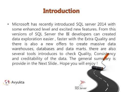 Business Intelligence Enhencements in SQL Server 2014