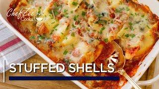 Homemade Stuffed Shells | Pasta Recipes | Chef Zee Cooks