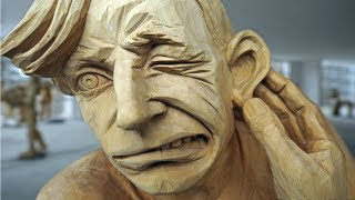 Top 5 AMAZING Time Lapse WOOD CARVING SCULPTURE VIDEOS || 3D SCULPTING - Woodturning