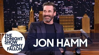 Jon Hamm Does a Spot-On Impression of Ray Romano Playing Golf