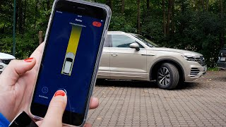 Volkswagen Touareg (2021) Automated Parking