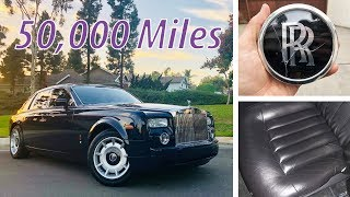 50,000 Miles in a Rolls Royce Phantom: the Good, the Bad, the Ugly