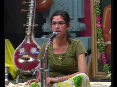 Gopika Krishna Performs at Chembai Sangeetholsavam 2010