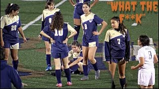 She Got Mad and Did This *Concussion* Morse vs Madison High School Girls Soccer