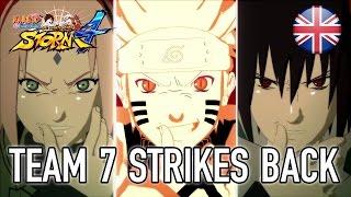 Naruto SUN Storm 4 - Team 7 Strikes back - Gameplay Video