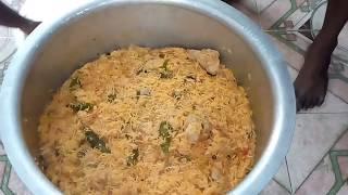 What We Prepared For Ramzan this year|How To Make Chicken Dum Biryani Muslim Style In Tamil