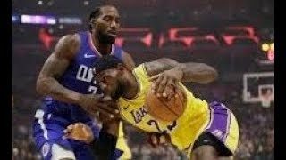 Los Angeles Lakers vs Los Angeles Clippers Opening Night For The 2019 20 Season Highlights