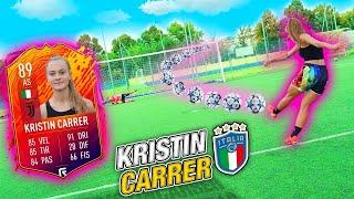 I2Bomber incontrano KRISTIN CARRER della Juventus - La nuova Stella del calcio FEMMINILE