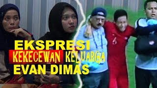 Ekspresi.. Kekecewaan keluarga Evan Dimas,  Alami cidera (Nobar Final Sepak Sea Games)