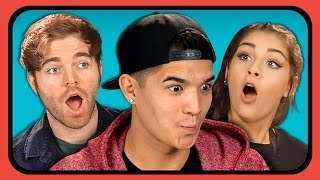 YouTubers React to Try to Watch This Without Laughing or Grinning #4