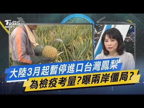 少康開講│大陸3月起暫停進口台灣鳳梨 為檢疫考量?曝兩岸僵局?