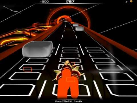 Audiosurf : Poets of the Fall - Save me