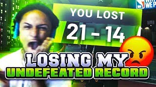 My Reaction To Losing My Undefeated Record in NBA 2K19 • FUNNY RAGE😂 • BROKE MY CONTROLLER 😂