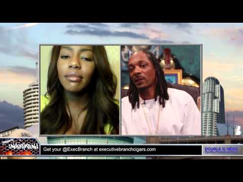 """Snoop Dogg GGN News Network Feat. Charlo Greene """"F**k It, I Quit"""" Reporter!"""