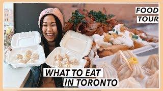 Eating All Around Toronto | Canada Food Travel Vlog