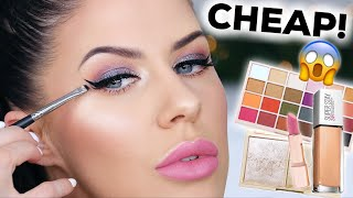 GET READY WITH ME!! | AFFORDABLE DRUGSTORE MAKEUP!!