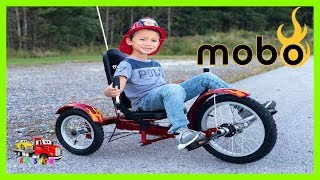Unboxing Assembling Riding The New Mobo Triton : The Ultimate Three-Wheeled Cruiser