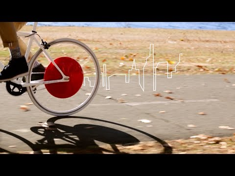 Convierten una bici en vehículo eléctrico híbrido a través de una app